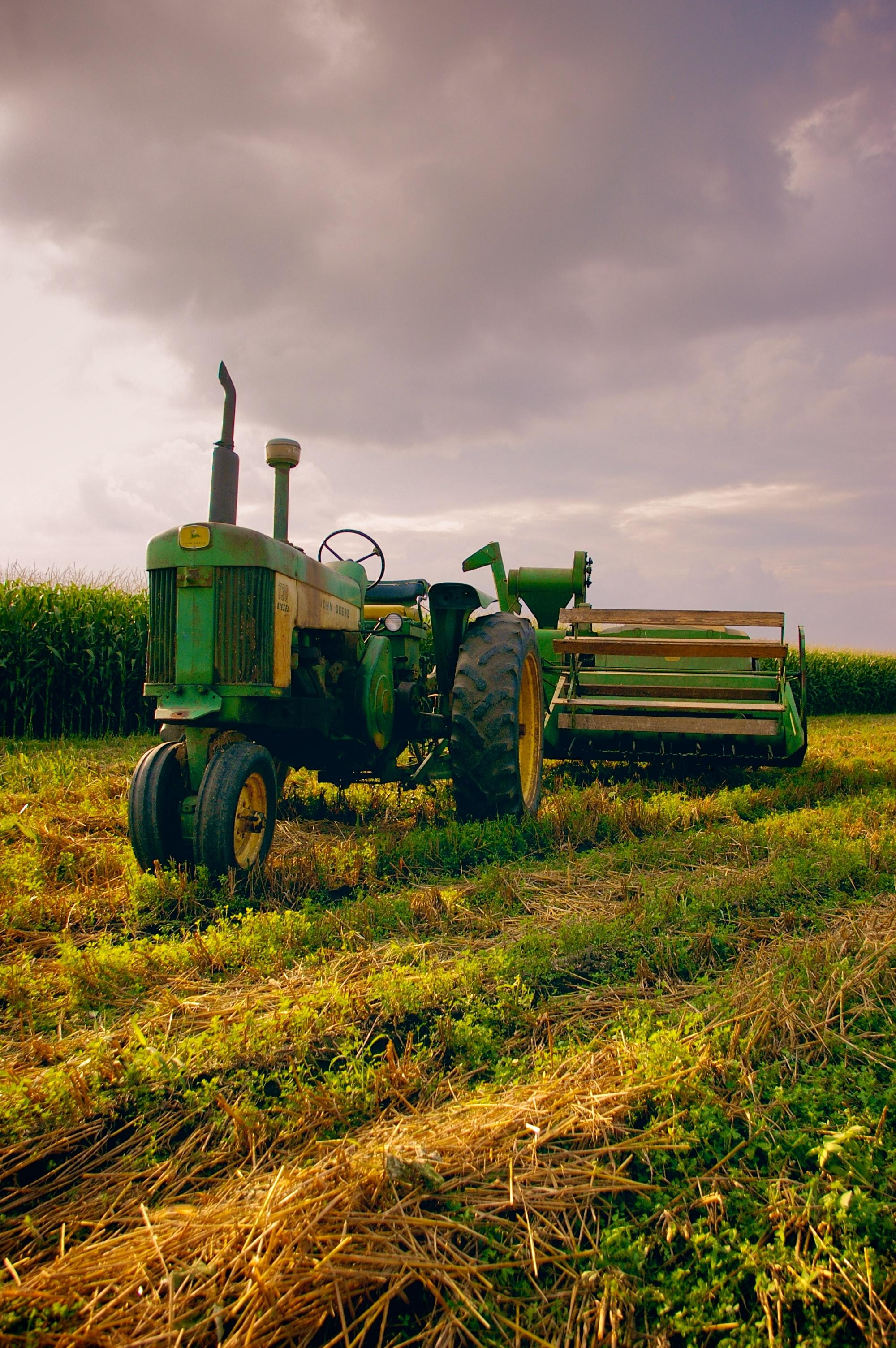 the agricultural machinery market