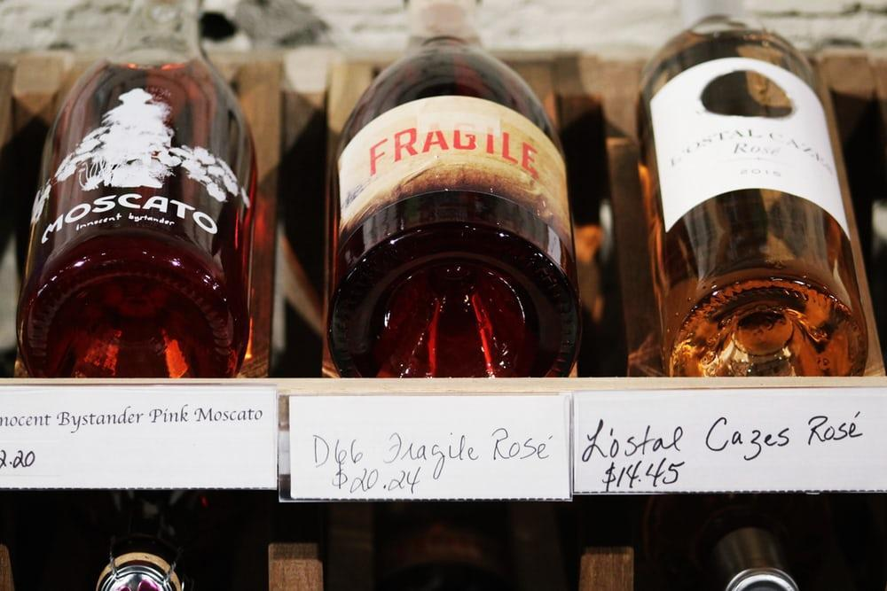 the rosé wine market